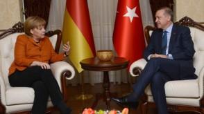 Merkel – Erdoğan görüşmesi…