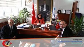 Zonguldak  İŞ KUR Müdürü  Gönül  Demirsu'yu Ziyaretimiz.