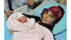 Yeni Yılın İlk Bebeği Zonguldak'ta Doğdu