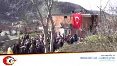 Zonguldak'lı Şehit Uzman Çavuş Göksel Cin'in Baba Evine Ateş Düştü!