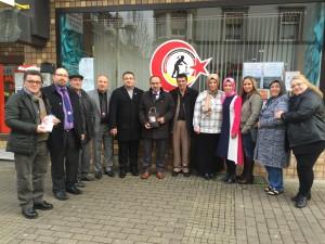 Saarbrücken Karaelmaslılar Derneğimizin yöneticileri ile toplu fotoğraf.