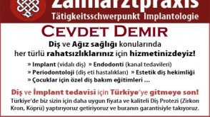 Cevdet Demir – Zahnarzt – İmplantologie