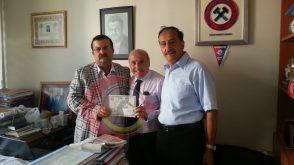 Zonguldak Kömürspor Başkanı Ziyaretimiz