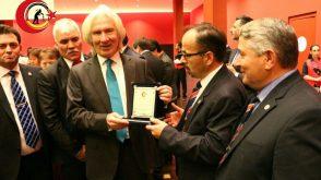 Empfang beim  Hüseyin Avni Karslıoğlu Botschafter der TÜRKEI