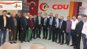 CDU Hristiyan Demokrat Partisi  İftar verdi