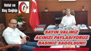 Zonguldak Valimizin Acı Günü…