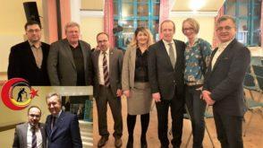 CDU Yeniyıl Resepsiyonunda Wulff'la Buluşma