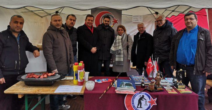Bismarck  Pazarında Zonguldak Standı