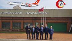 Valimizin Zonguldak Havalimanı Ziyareti !