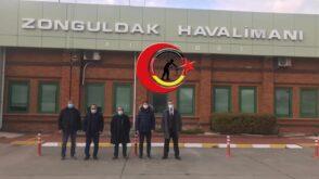 Müsiad Amerika'dan Zonguldak Havalimanına Ziyaret